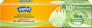 Sacs plastique pour déchets organiques avec poignée