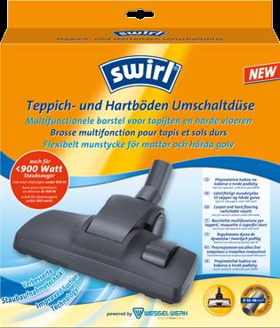 Swirl® Teppich- und Hartböden Umschaltdüse