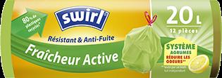 Sacs poubelle avec Fraîcheur Active