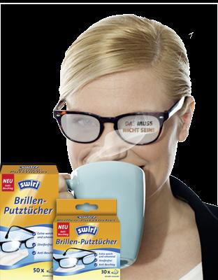 Swirl® Brillenputztücher